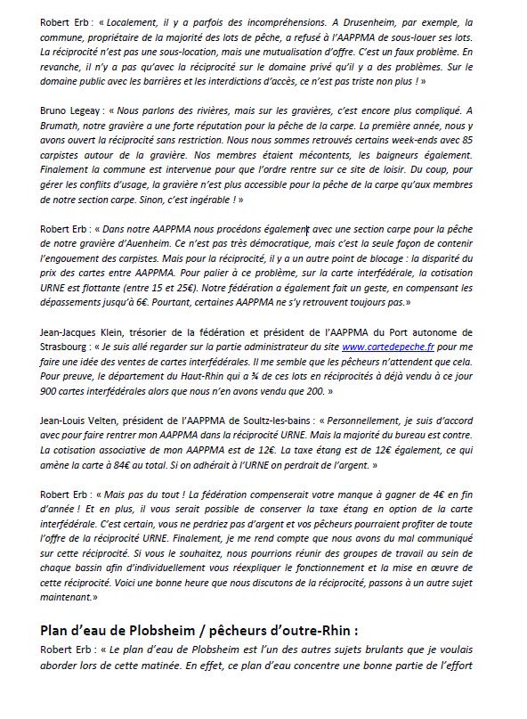 Congrès annuel de la Fédération du Bas-Rhin pour la Pêche et la Protection du Milieu Aquatique. 310