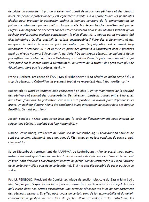 Congrès annuel de la Fédération du Bas-Rhin pour la Pêche et la Protection du Milieu Aquatique. 410