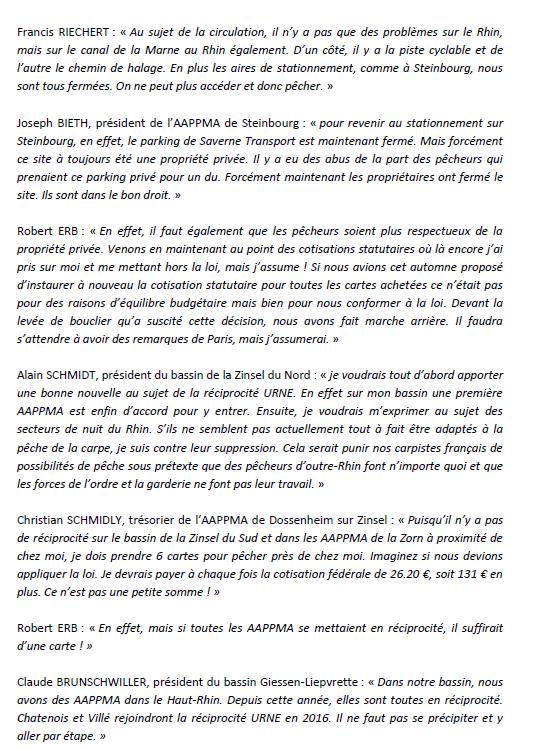 Congrès annuel de la Fédération du Bas-Rhin pour la Pêche et la Protection du Milieu Aquatique. 710