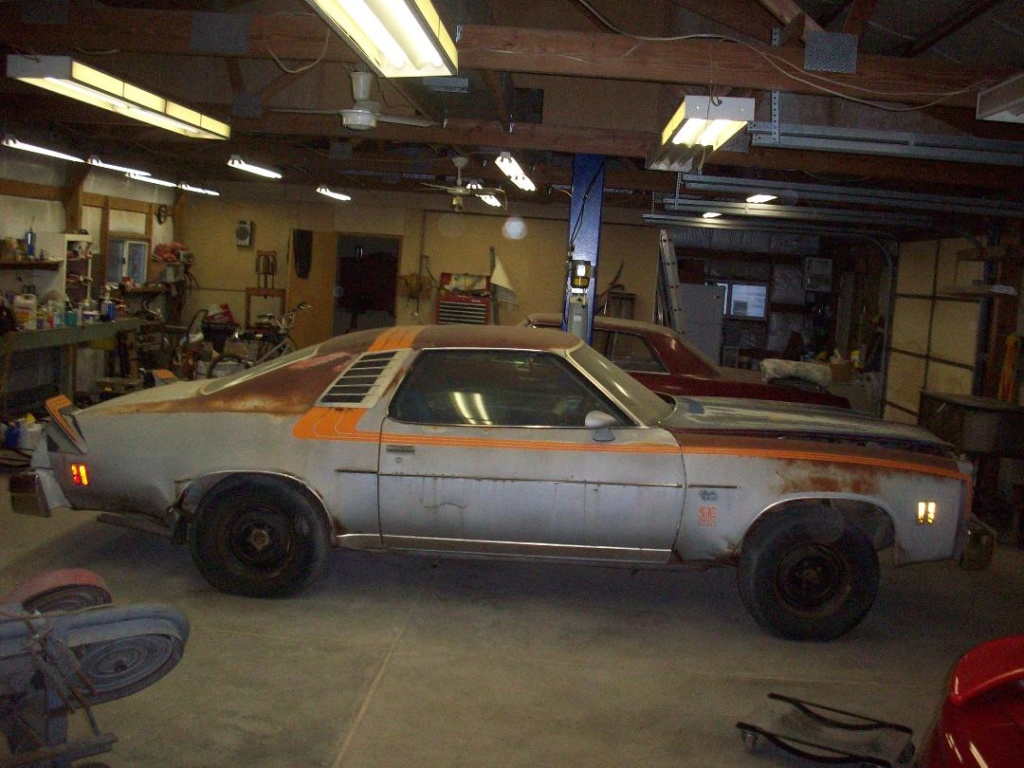 1977 Chevelle SE part 5/17/19 tinkering  100_2211