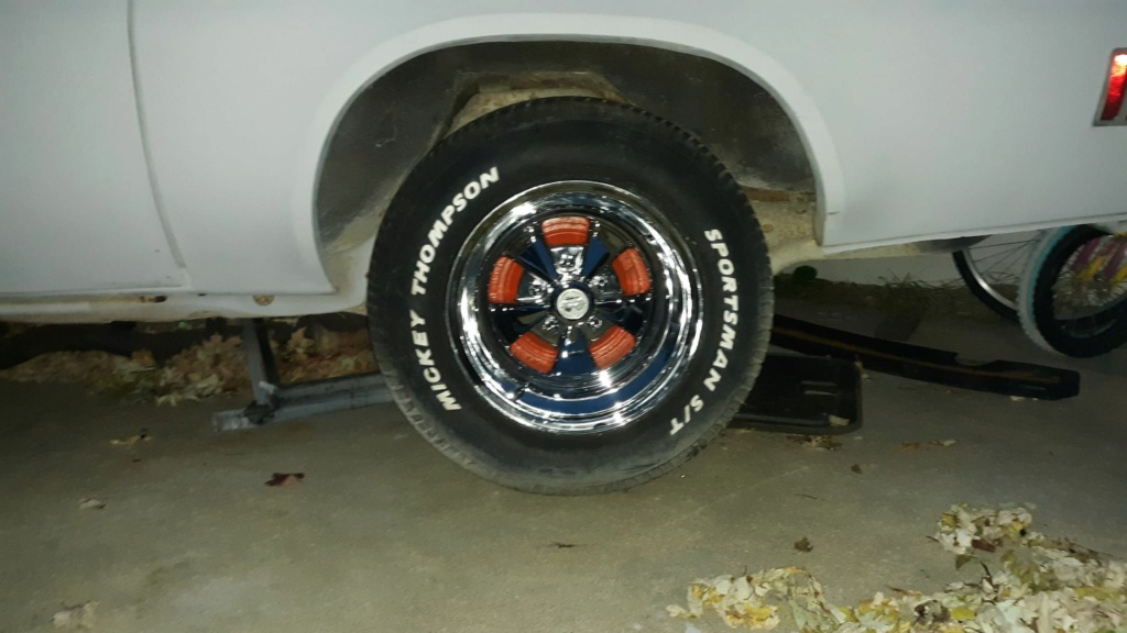 bought another set of wheels 12354410