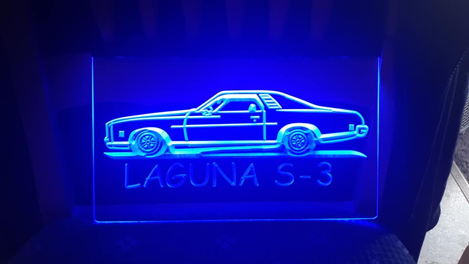"8"" x 12"" Lighted Signs Chevelle, Laguna, Elcamino and NOW MONTE CARLO 14811410"