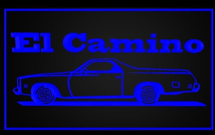 "8"" x 12"" Lighted Signs Chevelle, Laguna, Elcamino and NOW MONTE CARLO 15467210"