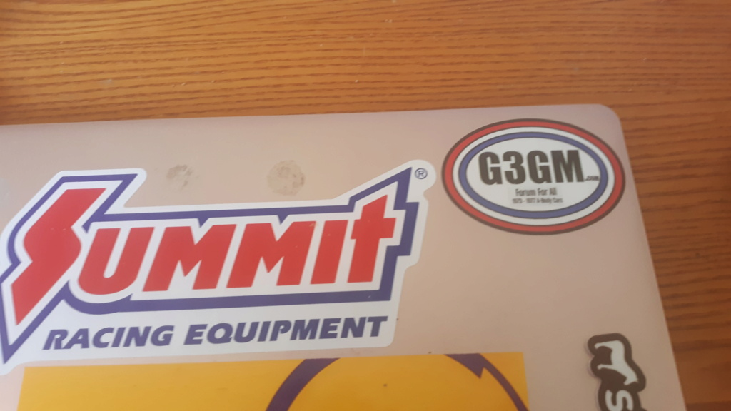 Decals HAVE ARRIVED  20210410