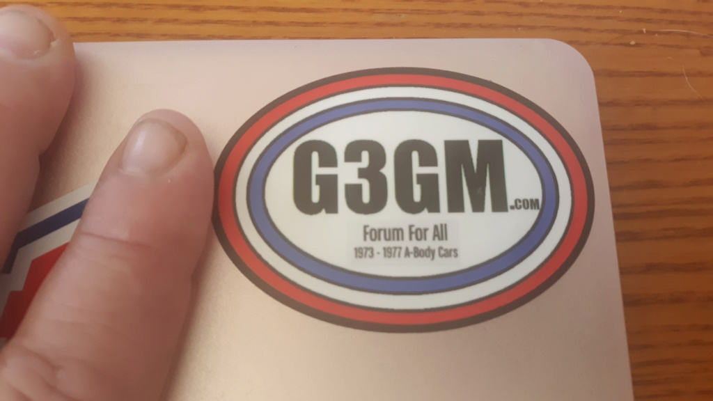 Decals HAVE ARRIVED  20210411