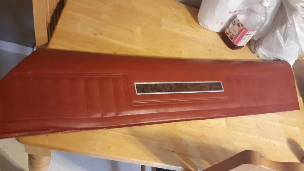 inner door panel chrome trim  82006611