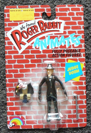 "ROGER RABBIT ""Who Framed""  (Ljn)  1988 1011"