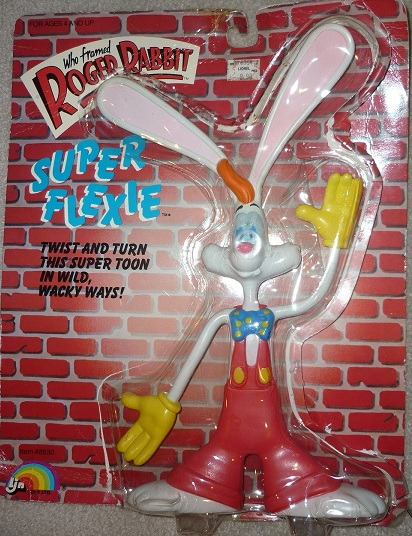 "ROGER RABBIT ""Who Framed""  (Ljn)  1988 1111"