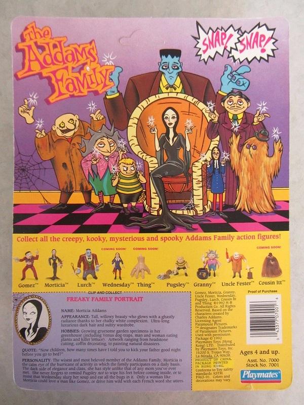 ADDAMS FAMILY (Playmates) 1990 A0710