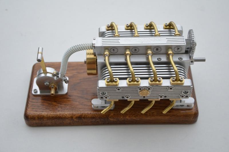 Mon projet en cours : un moteur 8 cylindres à air comprimé - Vidéo Pg 4 - Page 3 Montag14