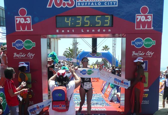 mari rabie remporte l'ironman 70.3 d'afrique du sud Rabie10