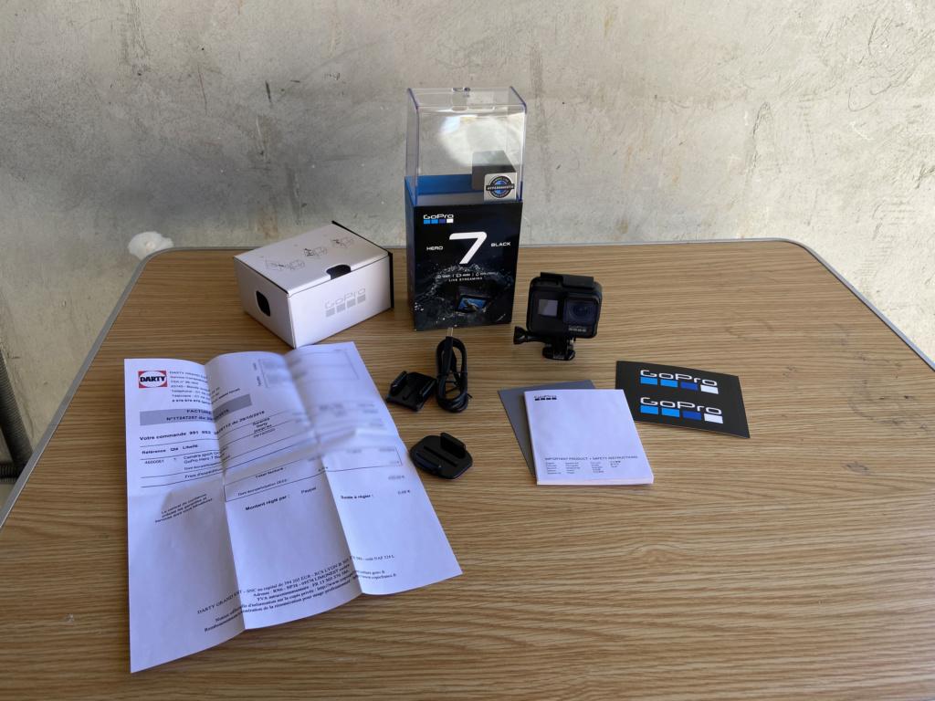 A vendre - Gopro Hero 7 Black - Garantie Oct-2020 - Pack complet Gopro-10