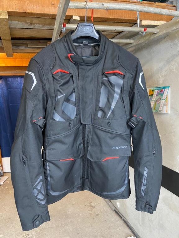 [A Vendre] Veste moto XL toutes saisons Ixon Cross Air Img_6310