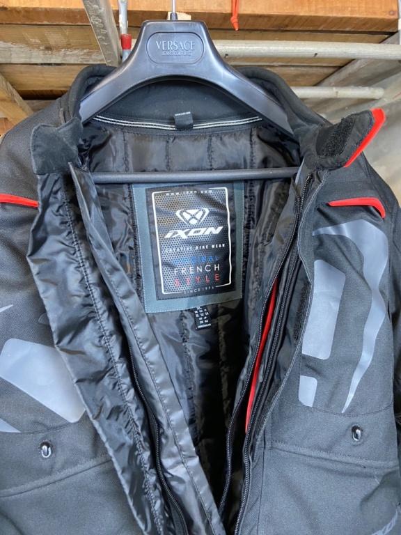 [A Vendre] Veste moto XL toutes saisons Ixon Cross Air Img_6311