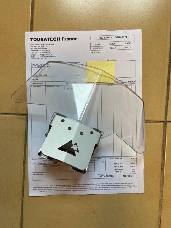 [Vendu] Déflecteur (spoiler) de bulle Touratech (compatible F 800 GS et autres) Img_6612