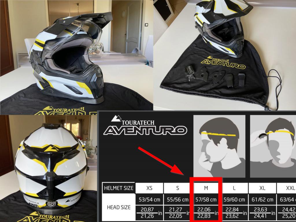 A vendre : Casque Touratech Aventuro Carbon Deco Rallye Taille M Montag14