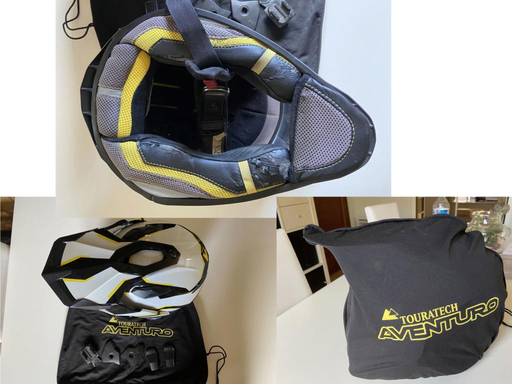 A vendre : Casque Touratech Aventuro Carbon Deco Rallye Taille M Montag15