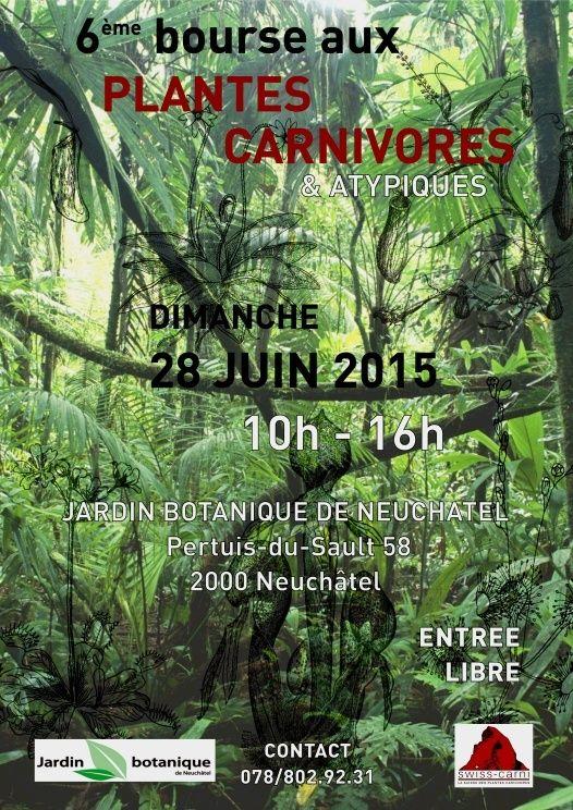 Swiss-Carni : 6e Bourse plantes carnivores 2015 Bourse10