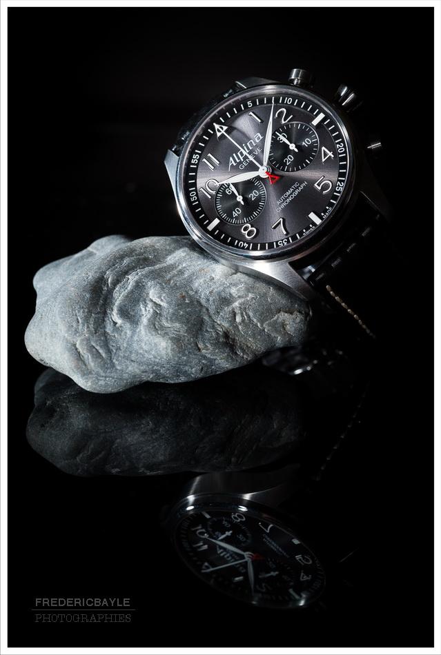 "Alpina - [Revue]Alpina Startimer Pilot Chrono 'sunray"" Nd4_7010"