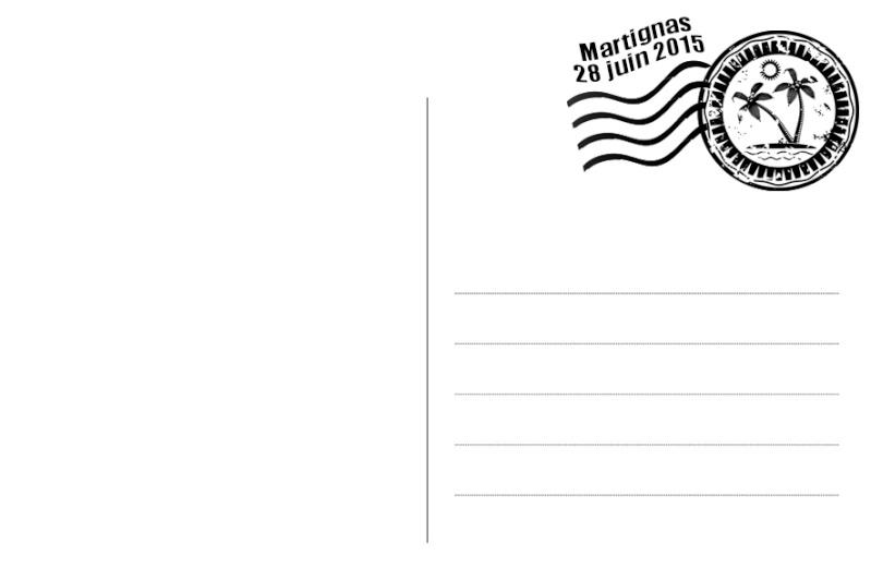 carte postale pour menu baptême Sans_t10