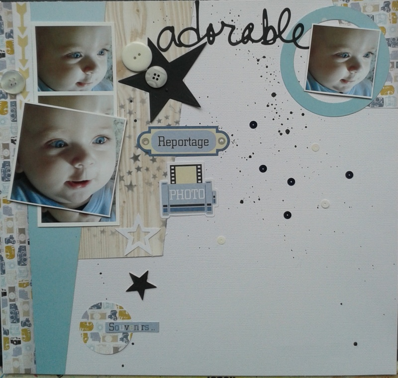 Challenge Scrapbooking Day N°1---2mesdixdoigts  - Page 3 20150519