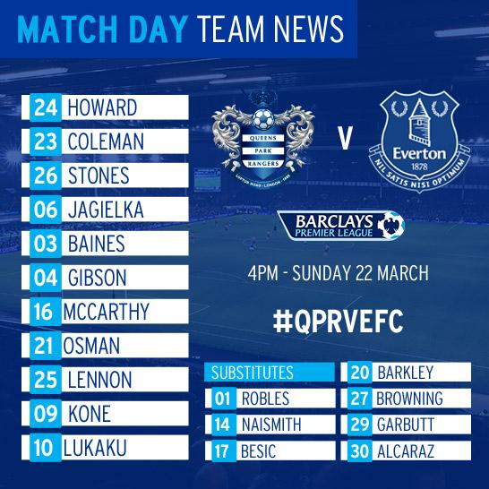 QPR v Everton Captur14