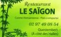 Le Saîgon (Vietnamien)- 56 Questembert. Resto_10