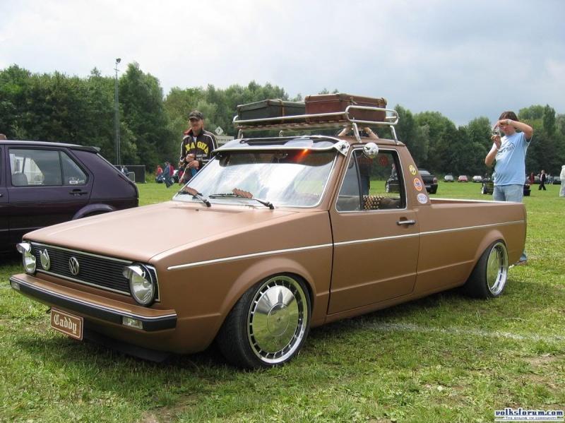 [ VW ] GOLF CADDY pick up / tolé 155_5510