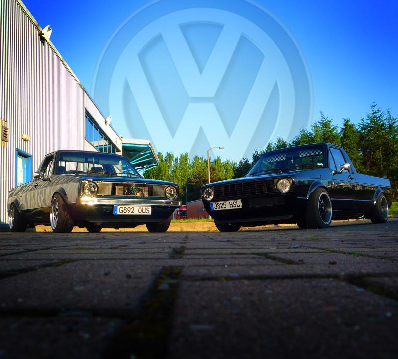 [ VW ] GOLF CADDY pick up / tolé 4bigph10