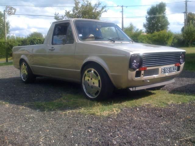 [ VW ] GOLF CADDY pick up / tolé 59291710