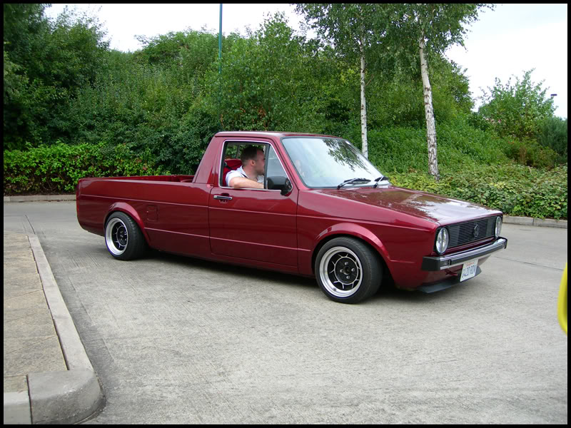 [ VW ] GOLF CADDY pick up / tolé 611