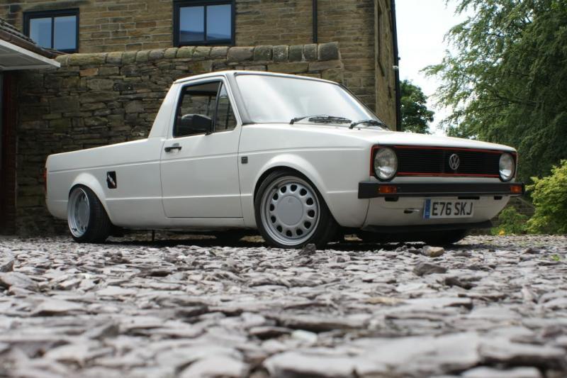 [ VW ] GOLF CADDY pick up / tolé Onecou10