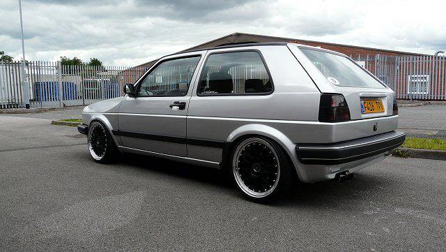 [ VW ] GOLF MK2 P1000410