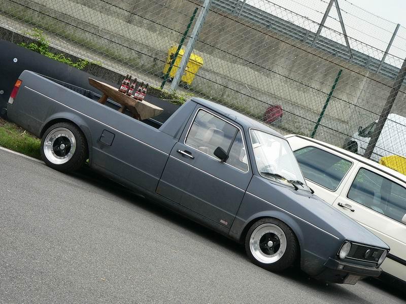 [ VW ] GOLF CADDY pick up / tolé P1480610