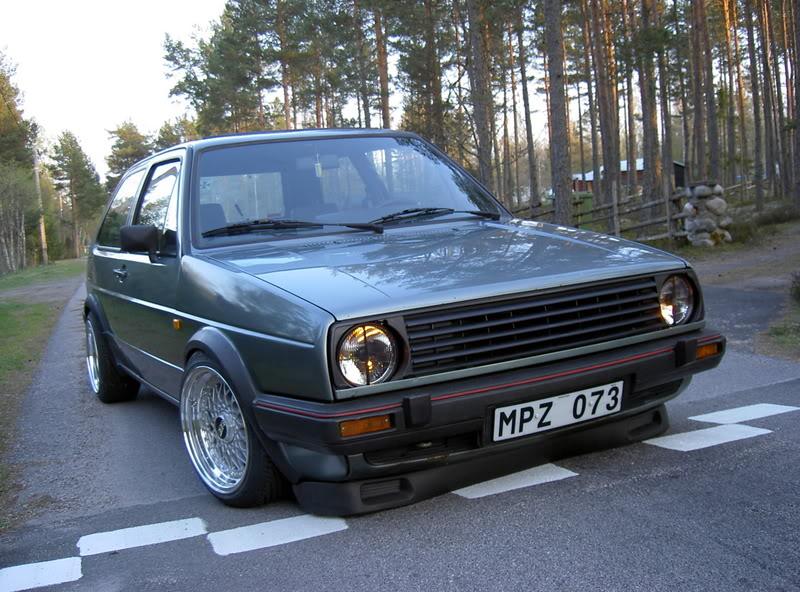 [ VW ] GOLF MK2 Pict3610