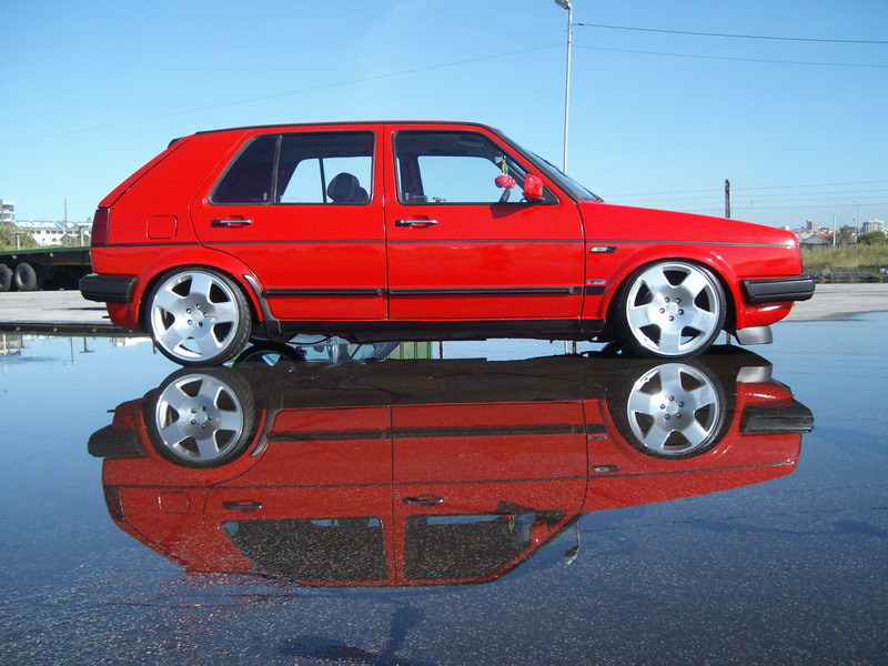 [ VW ] GOLF MK2 Sany0810