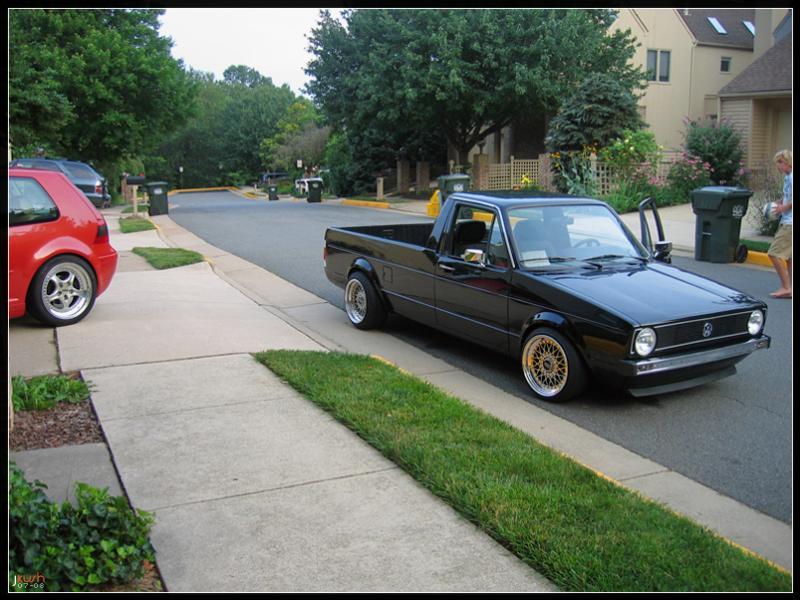 [ VW ] GOLF CADDY pick up / tolé Vagwhp10
