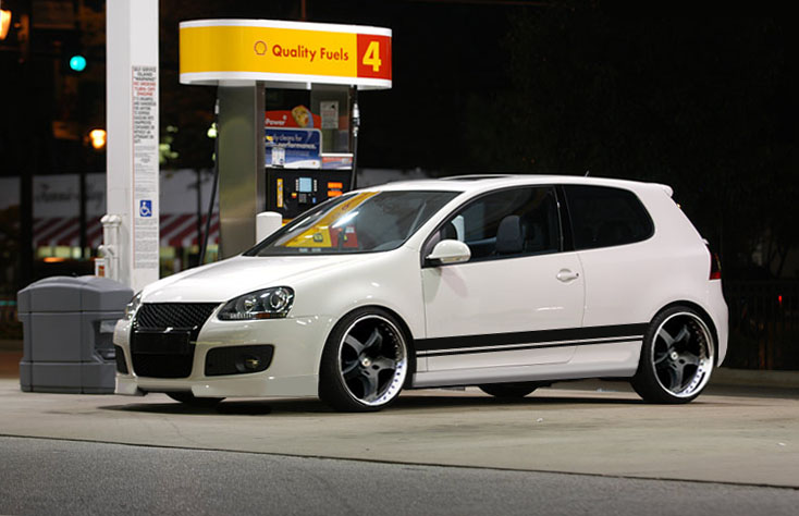 [ VW ] GOLF MK5 White-10