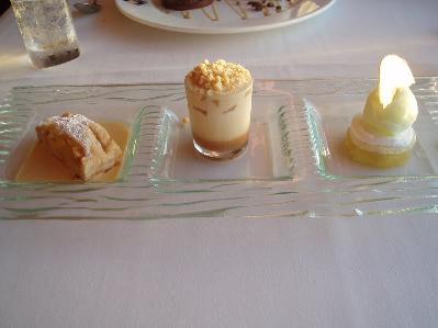 California Grill vs. Chefs de France + Teppan Edo Desser10