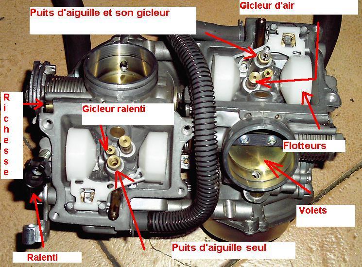 Shadow 1100 C2 - Adapté la carburation suite au chgt de l'echappement - Page 5 15_car10