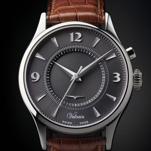 Feu de vos montres à fond anthracite Vulcai10