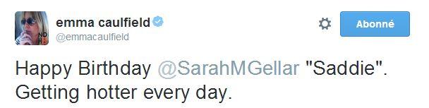 Sarah - TWITTER officiel - Page 2 Emma14