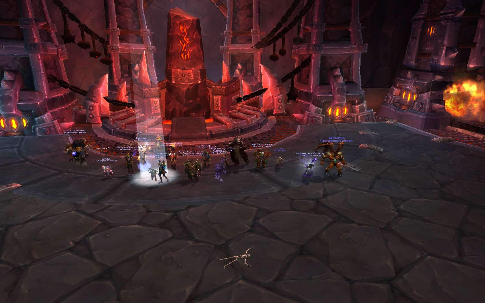 Oh yeah and we also killed HC Flamebender :D Wowscr10