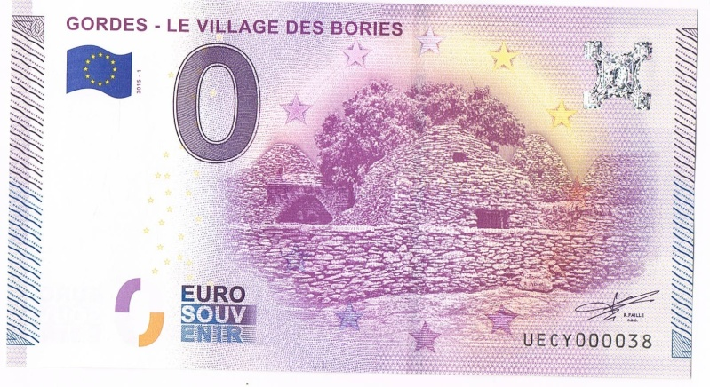 Billets 0 € Souvenirs  [SUD = 62] 84_le_10