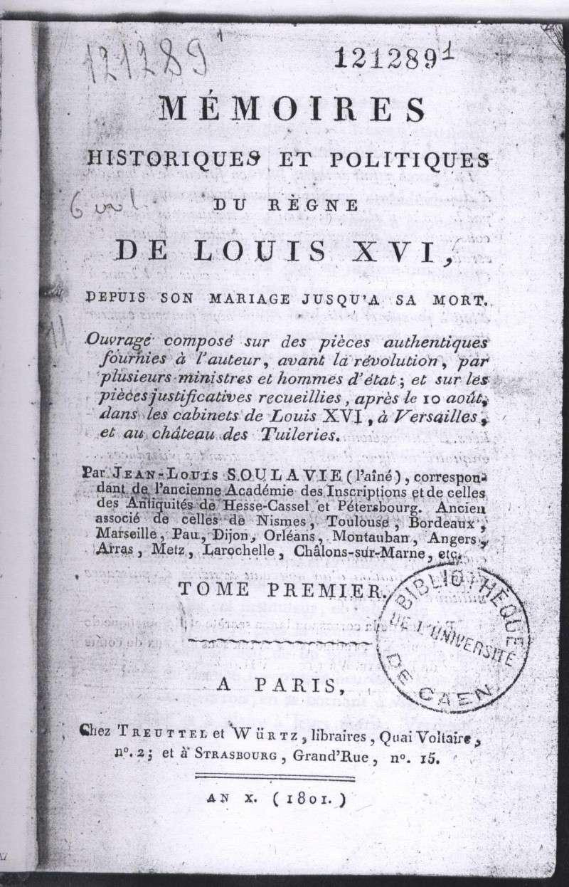 Le divorce de Marie-Antoinette et Louis XVI, intrigues et fantasmes ... A11
