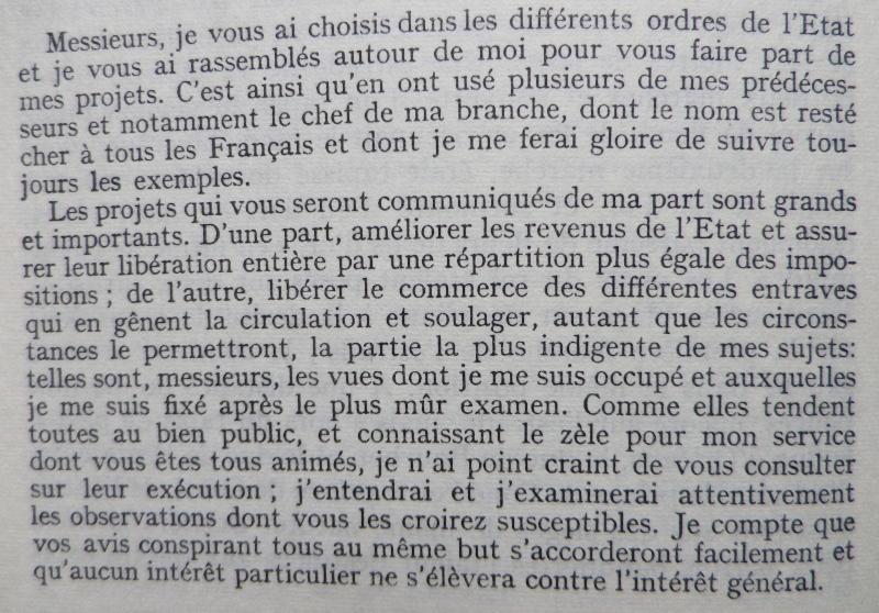 Le duc de Dorset, ambassadeur d'Angleterre en France - Page 2 Calonn10