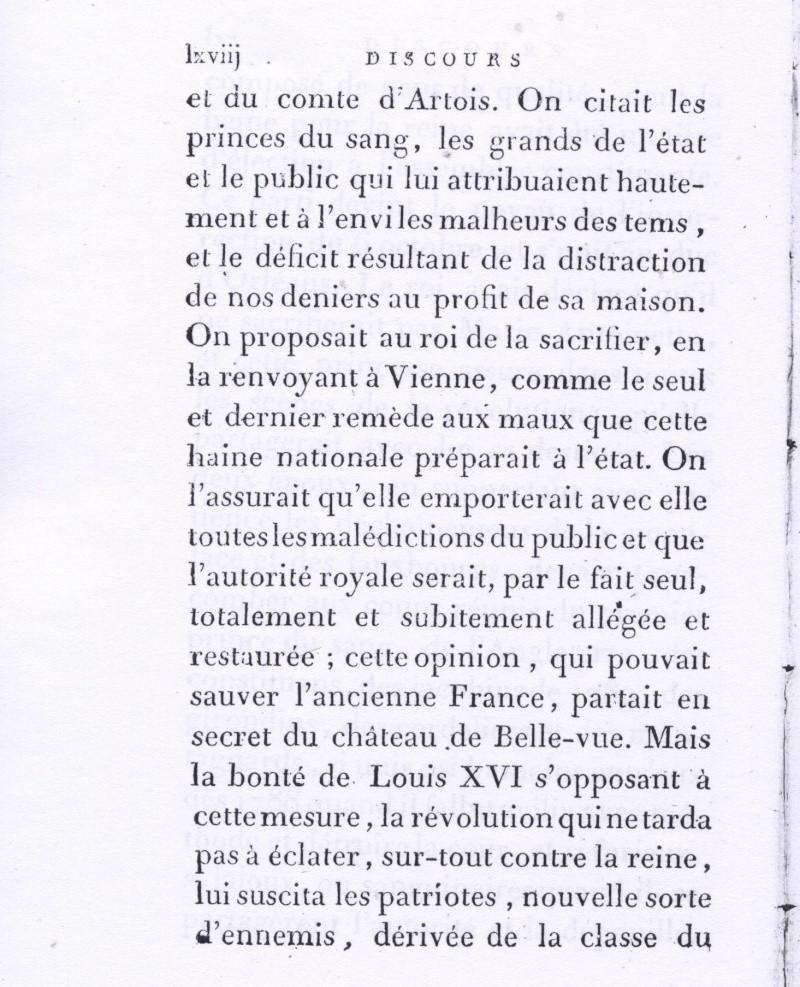 Le divorce de Marie-Antoinette et Louis XVI, intrigues et fantasmes ... D10
