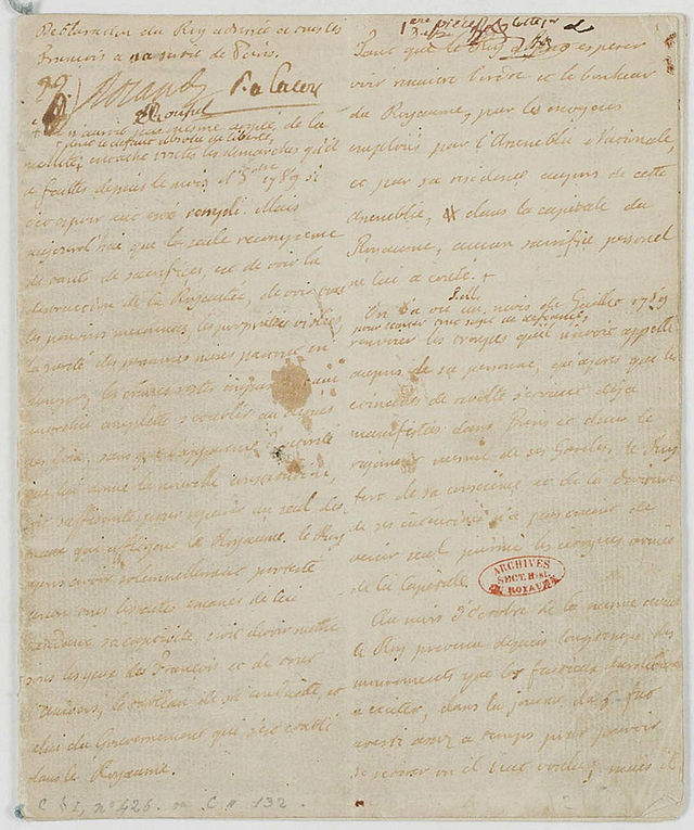 La fuite vers Montmédy et l'arrestation à Varennes, les 20 et 21 juin 1791 - Page 6 Dyclar10