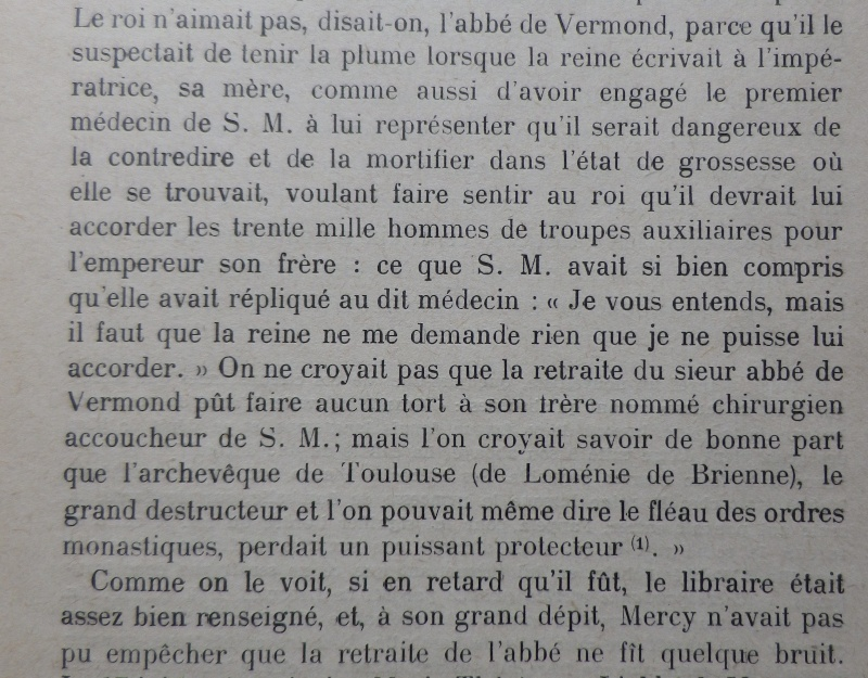 La première grossesse de Marie-Antoinette, selon les Mémoires Secrets ... - Page 3 La_pag10