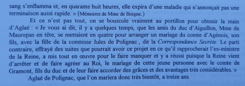 Aglaé de Polignac duchesse de Guiche Le_mar12